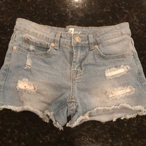 💕girls 7 for all mankind jean shorts